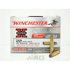 Munition Winchester 22 magnun Super-X