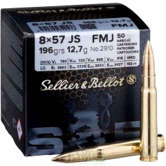 Munition Sellier & Bellot 8x57 JS
