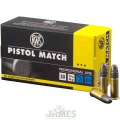Munition RWS 22lr Pistol Match