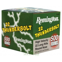 Munition 22lr Remington Thunderbolt x500
