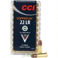 Munition 22 lr CCI Copper