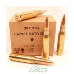 Munition .308 GGG 147gr