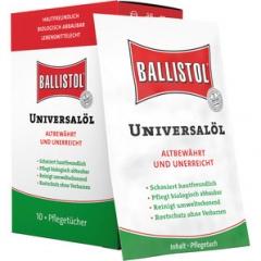Lingettes d'huile Ballistol x 10