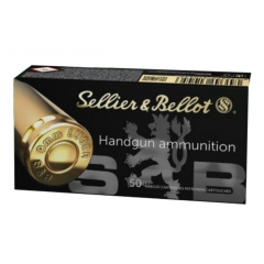 Balles Sellier Bellot calibre 9x19