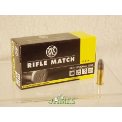 Munition 22lr RWS Rifle Match