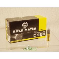 Munition 22lr RWS Rifle Match
