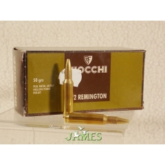 Munitions FIOCCHI cal 222 remington