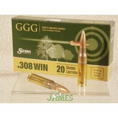 Munition .308 GGG HPBT