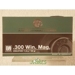 Munition .300 Win Mag RWS EVOLUTION