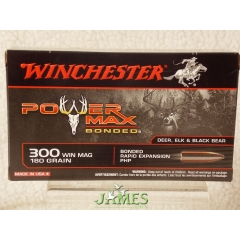 Munition WINCHESTER .308 Win Magnum POWERMAX Bonded