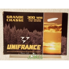 Munition UNIFRANCE .300 Win Magnum Grande Chasse