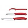 Victorinox - Set de couteaux d'office Swiss Classic avec éplucheur, 3 pièces